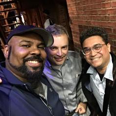 Seeing James again in Hamilton, New York