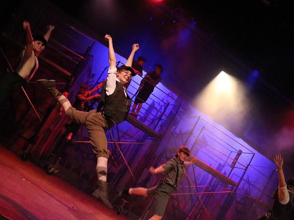 Teaghan Herren leaps for the ST