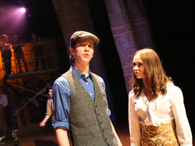 Matt Jenkins as Jack Kelly and Lily Anderson as Katherine