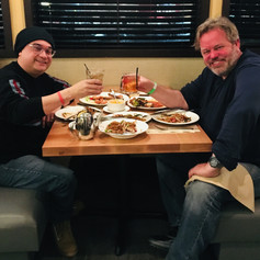 Dinner with Visual Effects wizard, Adam Howard