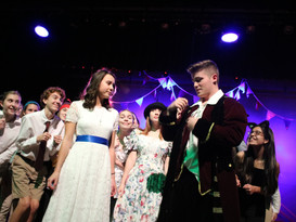 McKenna Lasit as Molly and Peter Harmon as Lord Aster