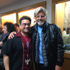 One of my favorite playwrights, Ernest Thompson. He attended our production of Grease which I directed