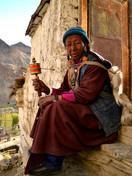 Buddhist lady