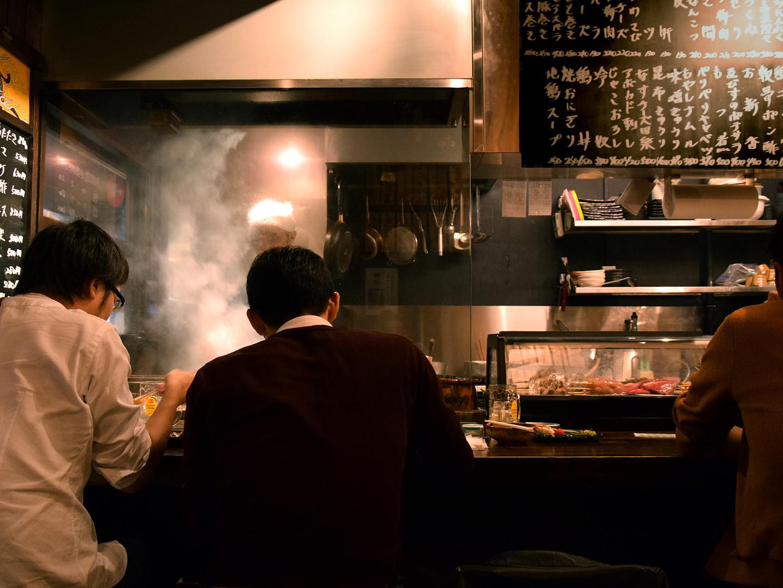 A small restaurant