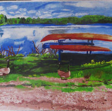 Boat Painting 3
