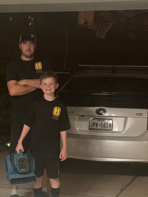 Brandon and Kayden age 10