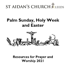 Prayer resource cover for Palm Sunday et