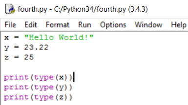 Python values, variables and datatypes