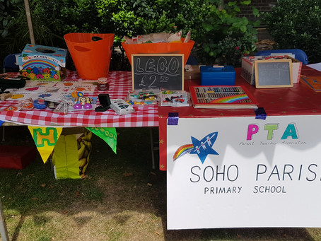 Soho Parish PTA at the Soho Society's 45th Soho Village Fete
