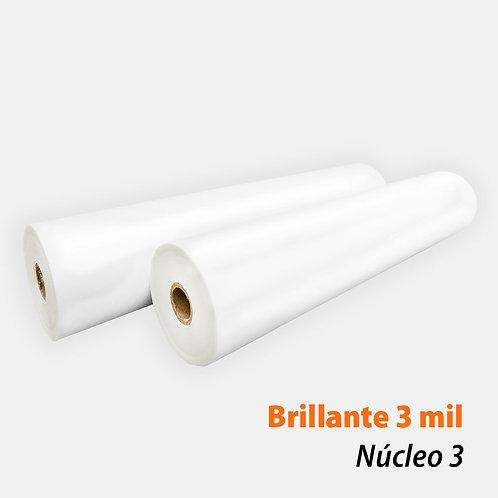 Rollo Térmico PET Brillante 3 mil (75 mic) N3 con 1 rollo