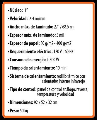 Laminadora RSL 2701