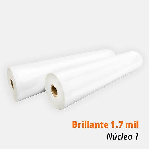 Rollo Térmico PET Brillante 1.7 mil (42 mic) N1 con 2 rollos