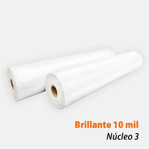 Rollo Térmico PET Brillante 10 mil (250 mic) N3 con 1 rollo