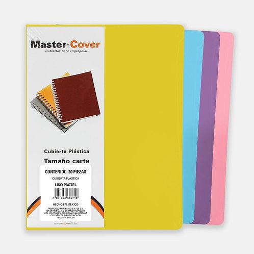 Cubiertas para Encuadernar MIX Colores Pastel (60 piezas)
