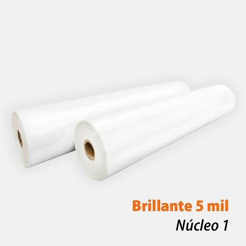 Rollo Térmico PET Brillante 5 mil (125 mic) N1 con 2 rollos