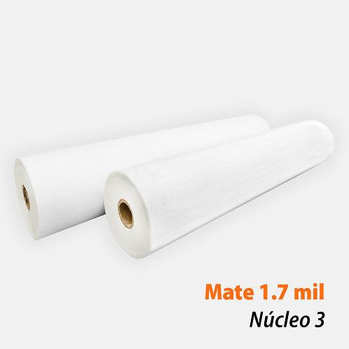 Rollo Térmico PET Mate 1.7 mil (42 mic) N3 con 1 rollo