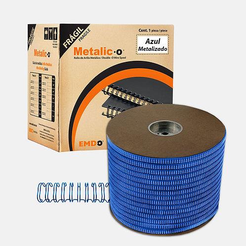 Bobina Arillo Metálico Doble Color Azul Metalizado (Paso 3:1 y 2:1)