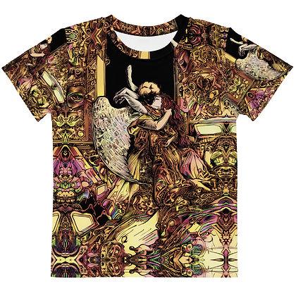 T-shirt Pour Enfant ANGEL KISS