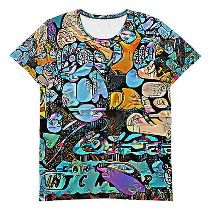 T-shirt Pour Homme POPARTOONS