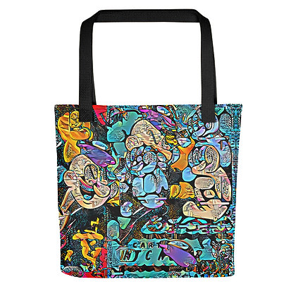 Tote bag POPARTOONS