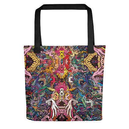 Tote bag ABYSSCREAM all over