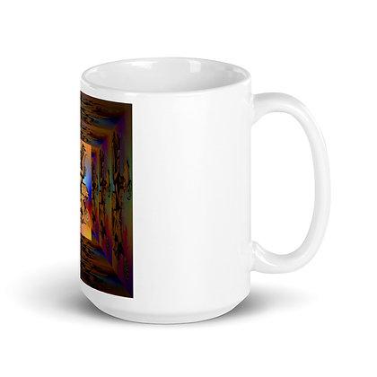 Mug MONKEY Blanc Brillant