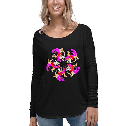 T-shirt à Manches Longues pour Femme UNGL