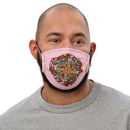 Masque ZIPCIRCLE pink3