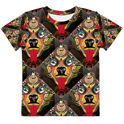 T-shirt Pour Enfant MOTIF CHIENNE