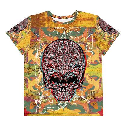 T-shirt Pour Adolescent TETE DE MORMOR 1