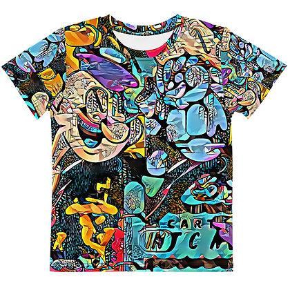 T-shirt Pour Enfant POPARTOONS