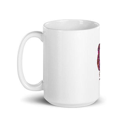 Mug FIREROOSTER Blanc Brillant