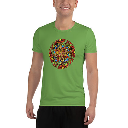T-shirt Pour Homme ZIPCIRCLE green