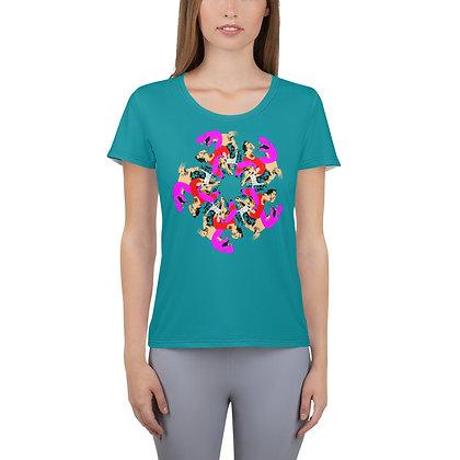 T-shirt pour femmes UNGL blue3