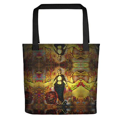 Tote bag MADAME TOTEM all over