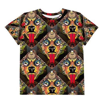 T-shirt Pour Adolescent MOTIF CHIENNE
