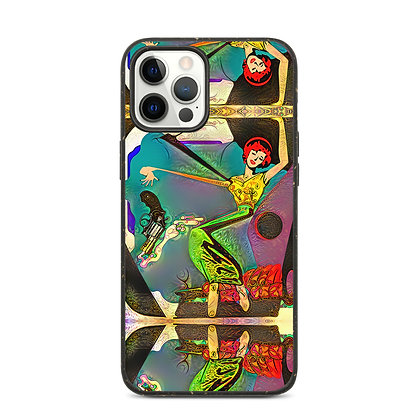 Coque iPhone biodégradable GUN DANCE