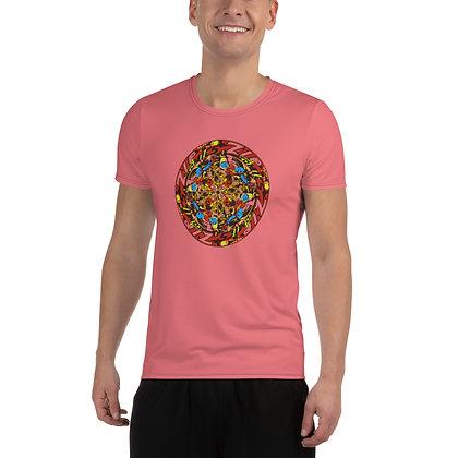 T-shirt Pour Homme ZIPCIRCLE pink2