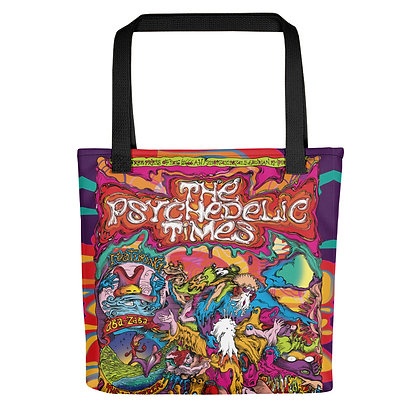 Tote bag PSYCHETIME all over