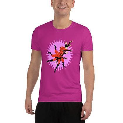 T-shirt Pour Homme ZEUBEUK rose