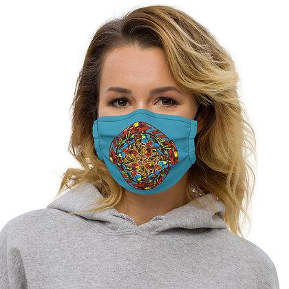 Masque ZIPCIRCLE blue