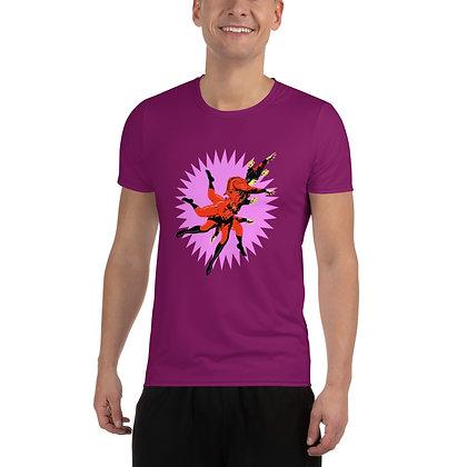 T-shirt Pour Homme ZEUBEUK pink6
