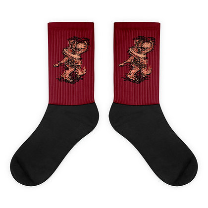 Chaussettes LOVE999 red2