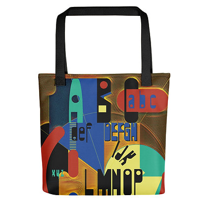 Tote bag REMIXGRANULE 1 all over
