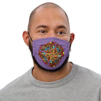 Masque ZIPCIRCLE purple1