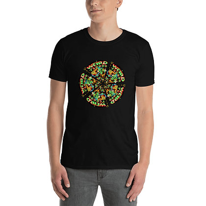 T-shirt Unisexe à Manches Courtes WEIRDTERRORCIRCLE