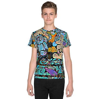T-shirt Pour Adolescent POPARTOONS1