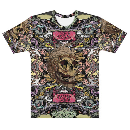 T-shirt Homme SMOKIN SKULL