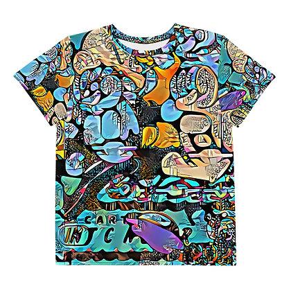 T-shirt Pour Adolescent POPARTOONS
