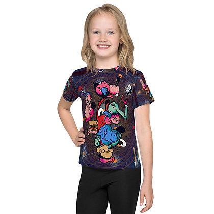 T-shirt Pour Enfant WIMPOPEYOIL